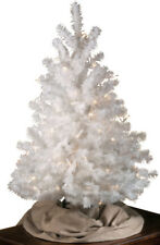 White All Seasons Decorative Evergreen Tree by Northwoods, 3' Height for Table