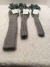Jan Craig 100% Wool Hand Knit Headcovers