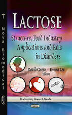 Lactose (Biochemistry Research Trends) - New Book Green, David