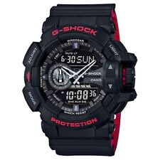 Cyber Monday Deal New G-Shock GA400HR-1A Rotary Black/Red Ana-Digi Mens Watch