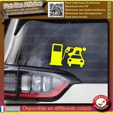 Sticker Autocollant diesel essence trop chère pompe a fric soutien gilet jaune