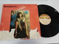 "FLASHDANCE SOUNDTRACK OST BSO MAXI LP VINYL 12"" 1983 SPANISH FIRST PRESS G+/VG"