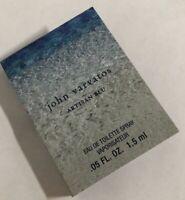 John Varvatos Artisan Blu EDT Mini Spray Sample 1.5ml/0.05oz/each NEW
