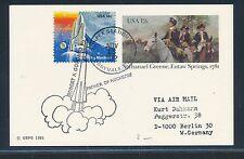 98918) Weltraum space Raketen, USA GA Sunnyvale 1982
