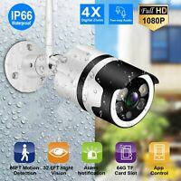 IP Camera Full HD 1080P Wifi Two-way Intercom Security Motion Detection P2P