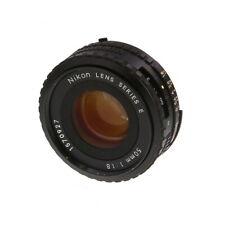 Nikon Nikkor 50mm F/1.8 Series E AIS Manual Focus Lens {52} - UG