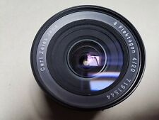 Exacta Zeiss Flektogon 20mm F. 4 Completo Di Tappi
