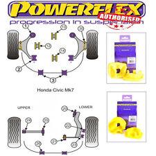 Powerflex Engine Mount Inserts Pff25-314 PFF25-313 For Honda Civic Ep3 Type R Si