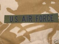 Authentique bande US Air Force USAF neuve