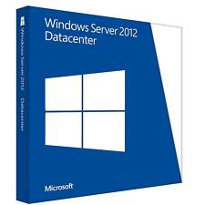 Microsoft Windows Server 2012 Datacenter (Lizenz + Medien) (2) - Vollversion für Windows P71-06771 -OEM