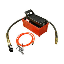 Af1 Pneumatic 10000 Psi Air Hydraulic Pump Foot Pedal 48 With Hose Amp Coupler