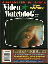 VIDEO WATCHDOG Magazine #55 - Dario Argento - Blair Witch - Richard Gordan