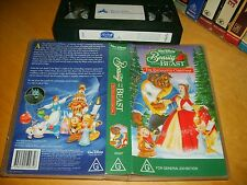 Vhs *Beauty and the Beast-The Enchanted Christmas* 1997 Disney - Oz Only Edition