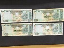 UNITED ARAB EMIRATES  (4 Notes)  10 Dirhams