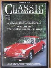 Classic Car Mechanics Summer 1987 Porsche 911 MG Midget Aston DBS V8 Citroen 2CV