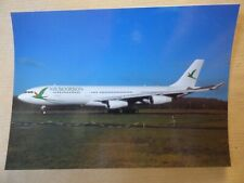 AIR BOURBON   AIRBUS A 340 211   F-OITN  / collection vilain N° 447