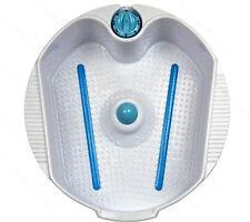 Electric Massaging Acupressure Heat Bubbling Foot Bath Tub Salon Spa Equipment