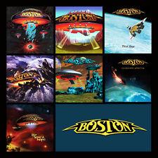 """BOSTON album discography magnet (3.5"""" x 3.5"""") journey styx foreigner kansas"""