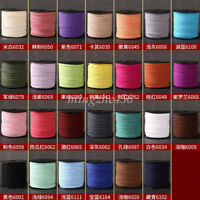 1 Roll 90M Faux Suede Leather String DIY Making Jewelry Bracelet Thread Cord 3mm