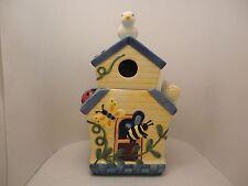 BICO CHINA Cottage Birdhouse Cookie Jar