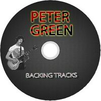 PETER GREEN BLUES GUITAR BACKING TRACKS CD BEST OF GREATEST BLUES MUSIC