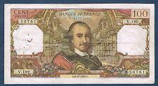 FRANCE - 100 FRANCS CORNEILLE Fayette n° 65.15 du 6-10-1966.G en TB  V.199 50761