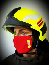 Mund-Nasenmaske Gesichtsmaske Mundschutz Feuerwehr Rescue 2020 NEU