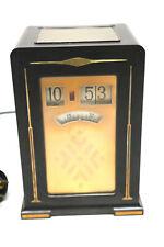 Art Deco PAUL FRANKL Telechron Clock Digitaluhr 30er Jahre sehr Rar !!!