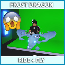 💎 FROST DRAGON LEGENDARY FLY RIDE ADOPT ME PET Roblox 💎