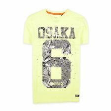 Superdry Herren T-Shirt Shirt Classic Gr.S Osaka 6+ Project Gelb 91957