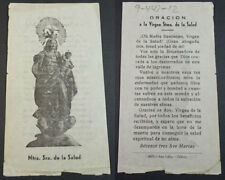 OLD BLESSED OUR LADY OF HEALTH HOLY CARD ANDACHTSBILD SANTINI SANTINO     CC2124