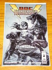 DOC FRANKENSTEIN #4 BURLYMAN COMIC SKETCH CVR VARIANT
