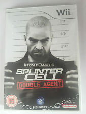 Tom Clancy's Splinter Cell: Double Agent For Nintendo Wii (New & Sealed)