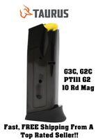 Taurus G3C/G2C/PT111 G2 Compact 9mm 10-Round/RD Magazine/Mag/Clip 358-0023-01