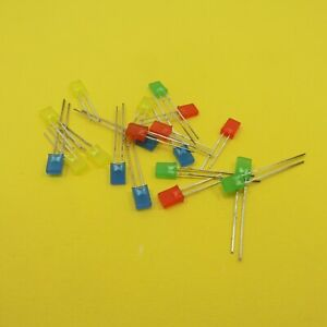 2mm x 5mm x 7mm Square Top Ultra Bright LED Diffused Diode Light Emitter