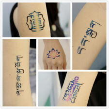 20x OPHIR Body Painting Temporary Tattoo Stencils Henna Glitter Templated Set