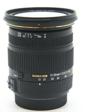 Sigma 17-50mm F/2.8 EX DC HSM Auto Focus Wide Angle Zoom Lens for Maxxum & Sony Alpha Digital Slr's - USA