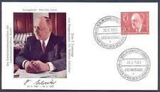 Germany Berlin 1960 FDC 192 Walther Schreiber