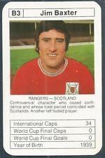BOBBY CHARLTON'S WORLD CUP ACES-1977-78-B3-NOTTINGHAM FOREST/SCOTLAND-JIM BAXTER