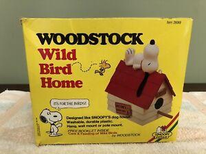 Snoopy Woodstock Wild Bird House