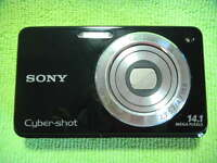 SONY CYBER-SHOT DSC-W560 14.1 MEGA PIXELS DIGITAL CAMERA BLACK