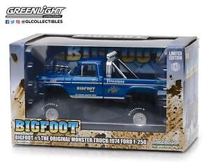 Greenlight 1:43 Scale Bigfoot #1 Monster Truck 1974 Ford F-250 (86097)