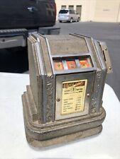 Working Bally Baby 1 cent Slot MachineLucky Strike, Camel Trade Stimulator Nice