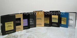 Various Tom Ford Sample Vials Sold Individually -  Please choose from the menu!