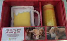 Pearhead me and my pet drinking set holiday Beer version gift