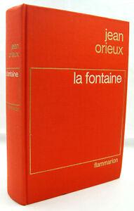 ORIEUX, Jean - La Fontaine - Flammarion - 1976 - Relié - TTBE - [2]