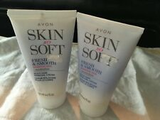 2- Avon Skin So Soft Fresh & Smooth SENSITIVE SKIN BODY HAIR REMOVAL CREAM WW sh
