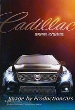 2009 Cadillac CTS-V - Original Advertisement Print Art Car Ad J692