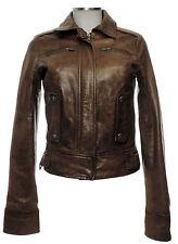 Raiden Lederjacke 36 (D) Leder Jacke Blouson braun sehr gut leather jackett