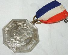ANTIQUE KING GEORGE V & QUEEN MARY 1935 JUBILEE MEDAL MIDDLESEX - VERY FINE MINT